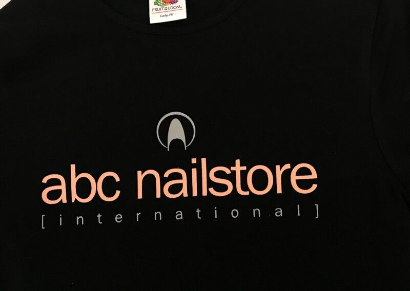 abc nailstore Promo T Shirt