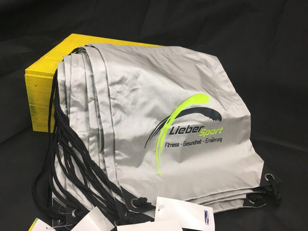 Sporttaschen/ Turnbeutel - im Flexdruck drucken