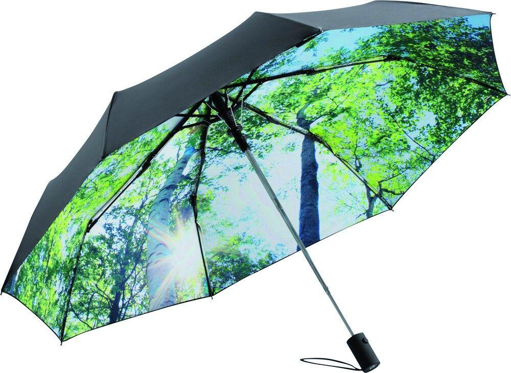Schirme mittels Flexdruck bedrucken lassen