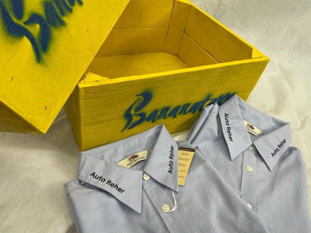 Hemden/ Blusen besticken