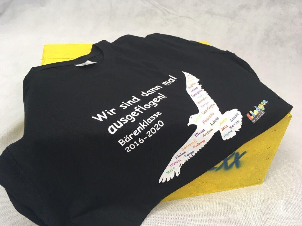 T-Shirts mittels Flexdruck bedrucken lassen